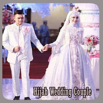Hijab Wedding Couple Suit poster