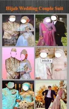 Hijab Wedding Couple Suit screenshot 1