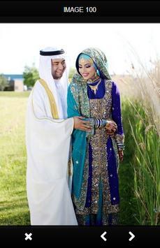Hijab Wedding Couple Suit screenshot 3