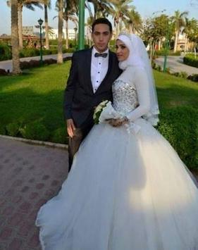 Hijab Wedding Couple Suit screenshot 4