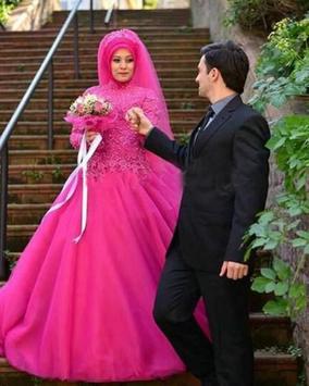 Hijab Wedding Couple Suit screenshot 6