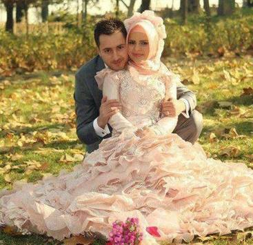 Hijab Wedding Couple Suit screenshot 7