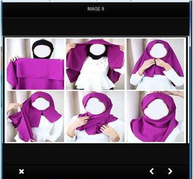 Hijab tutorial apk screenshot