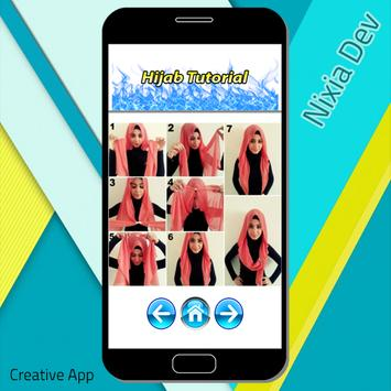 Hijab Tutorial apk screenshot