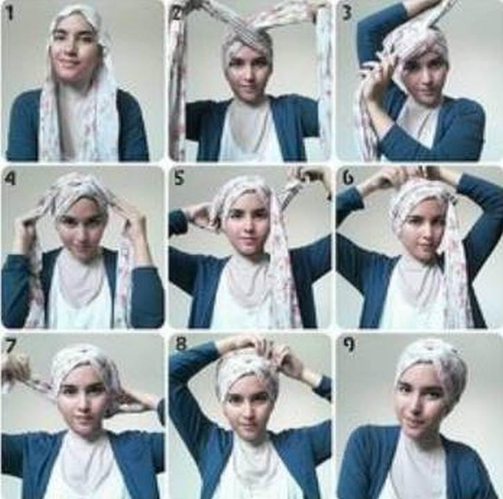 Hijab Turban Tutorials For Android