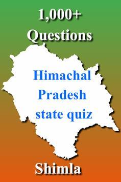 Himachal Pradesh State Quiz poster