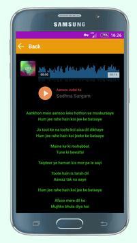 Hindi Sad Songs screenshot 1