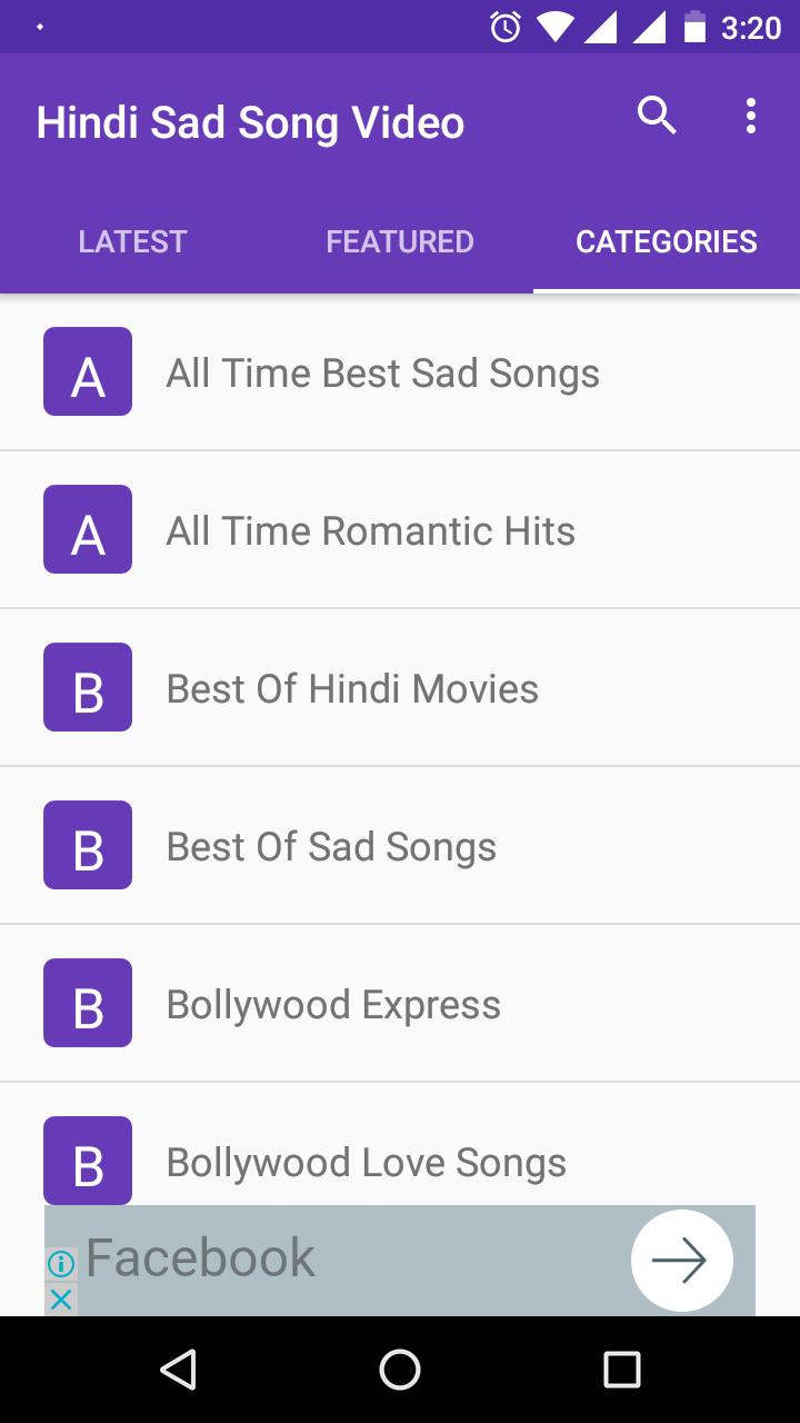 Hindi Sad Songs Video - Emotional Song App for Android - APK Download