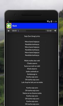 Hindi Medium Songs Lyrics apk screenshot