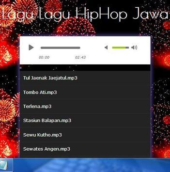 Hip Hop Java captura de pantalla de la apk
