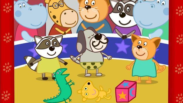 Kids Circus with Hippo apk screenshot
