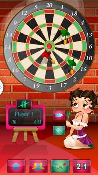 Betty Boop Darts Assistant poster