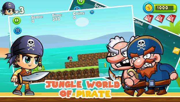 Boy Pirate Run apk screenshot