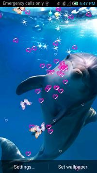 Dolphin Live Wallpaper apk screenshot