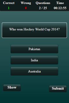 Quiz: Hockey screenshot 3