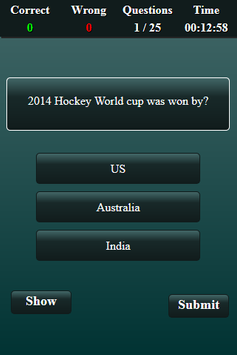 Quiz: Hockey screenshot 2