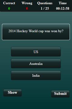 Quiz: Hockey screenshot 7