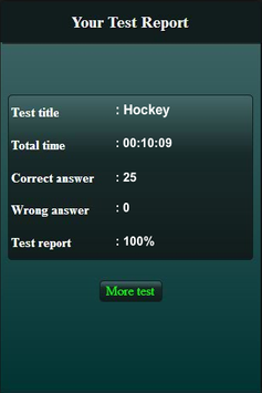 Quiz: Hockey screenshot 9