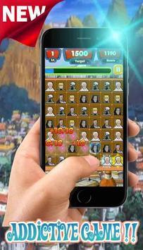 Hokage Konoha Match3 Link apk screenshot