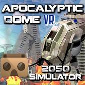 Virtual Reality VR Apocalyptic icon