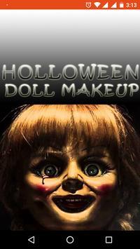 Holloween Doll Makeup Videos poster
