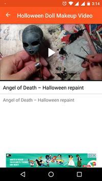 Holloween Doll Makeup Videos screenshot 5