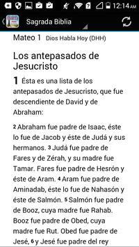 Dios Habla Hoy Santa Biblia ✞ screenshot 5