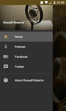 Russell Roberts Audio Podcast poster
