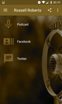 Russell Roberts Audio Podcast screenshot 1