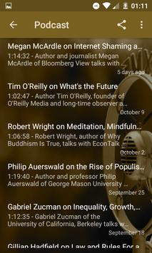 Russell Roberts Audio Podcast screenshot 2