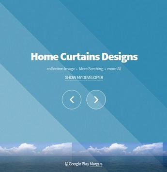 Home Curtains Designs poster