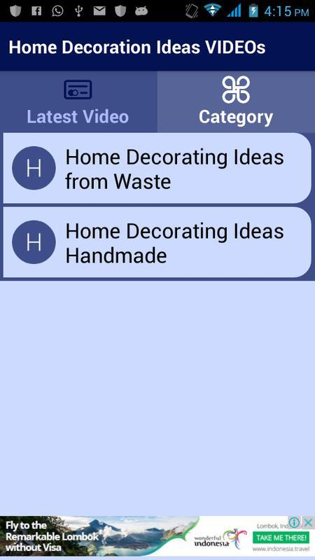 home decoration ideas videos apk download free entertainment app