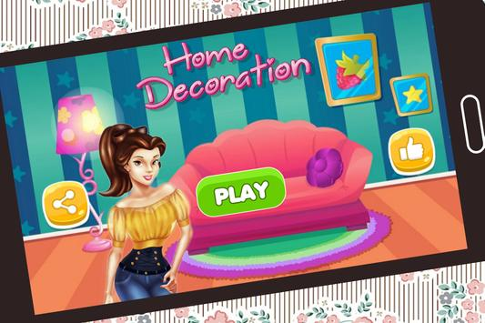 Interior Home Decoration Games poster