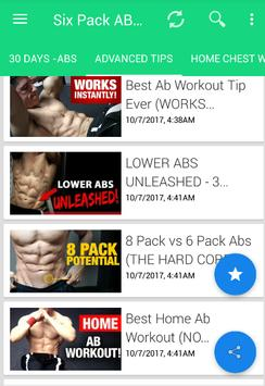 6 AB EXERCISES FOR SIX PACK ABS AT HOME Screenshot 12