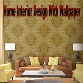 Home Interior With Wallpaper icon