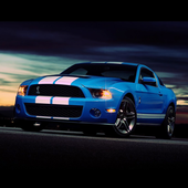Cool Mustang Shelby Wallpaper icon