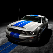 Mustang Shelby Car Wallpaper icon