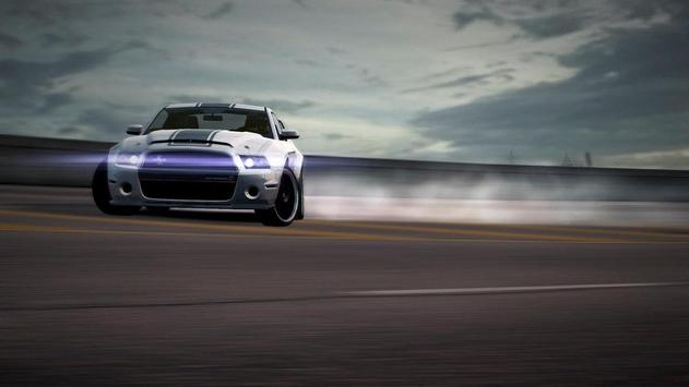 Mustang Shelby Car Wallpaper poster