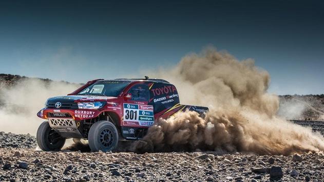 Dakar Rally Cars Wallpaper screenshot 5