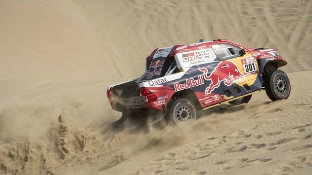 Dakar Rally Cars Wallpaper screenshot 9