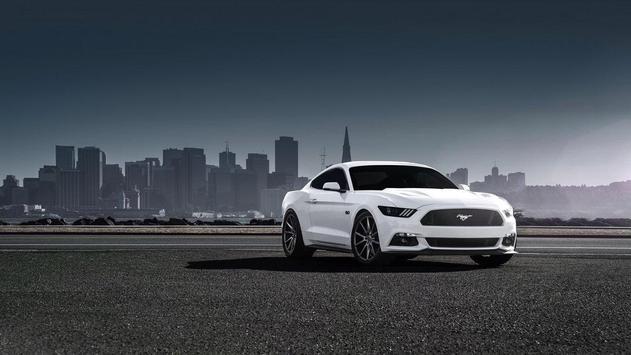 White Mustang Wallpaper screenshot 9