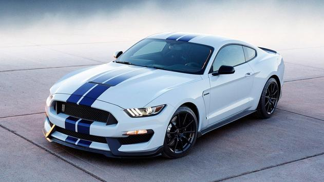 White Mustang Wallpaper screenshot 10