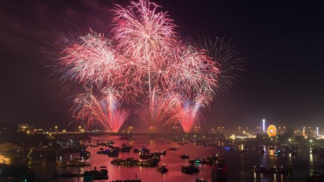 Beautiful Fireworks Wallpaper apk screenshot