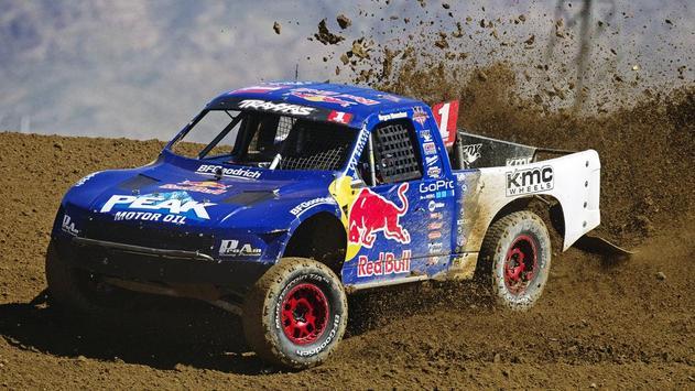 Baja Truck Racing Wallpaper poster