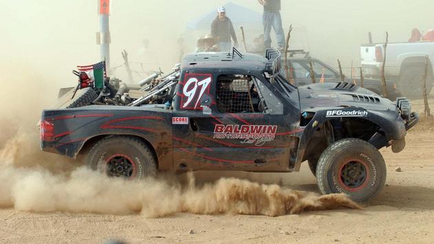 Baja Truck Racing Wallpaper screenshot 8