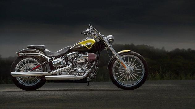 Custom Harley Wallpaper poster