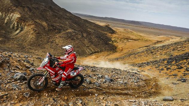Dakar Rally Motorcycle Desert screenshot 14