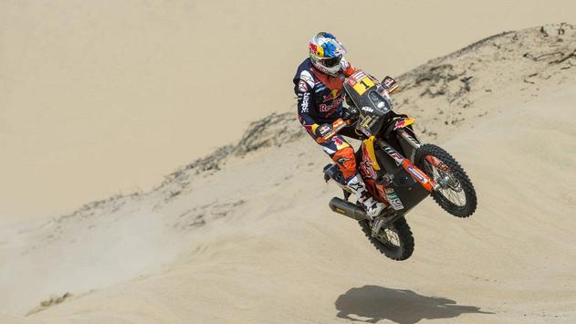 Dakar Rally Motorcycle Desert screenshot 13