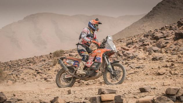Dakar Rally Motorcycle Desert screenshot 23
