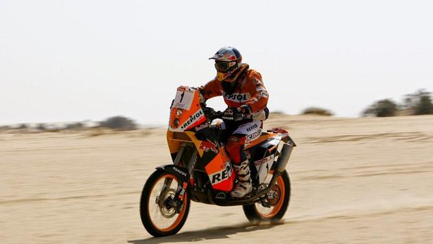 Dakar Rally Motorcycle Desert screenshot 2